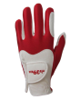 Guanto Fit39 Bianco-Rosso M