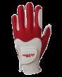 Guanto Fit39 Bianco-Rosso L