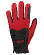 Guanto Fit39 Nero-Rosso M